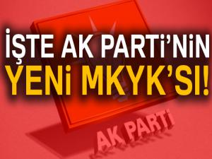 AK Parti MKYK listesi   AK Parti'de MKYK'ya hangi isimler var? Kimler girdi?