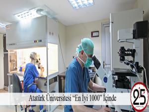 """Atatürk Üniversitesi """"En İyi 1000"""" İçinde"""