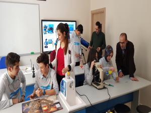 Bilge Kolejinde bilim seferberliği
