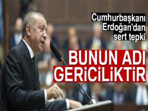 Cumhurbaşkanı Erdoğan: 'Bunun adı gericiliktir'