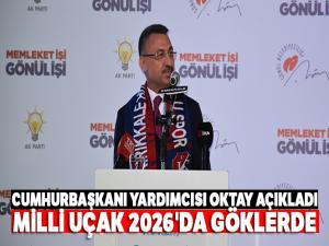 Cumhurbaşkanı Yardımcısı Oktay'dan milli uçak açıklaması