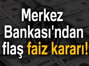 Merkez Bankası'ndan flaş faiz kararı! 28 May