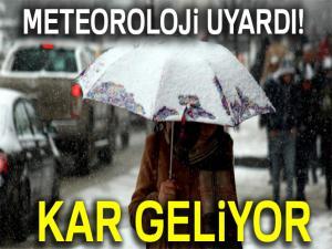 Meteoroloji'den kar uyarısı! |27 Ocak Cumartesi yurtta hava durumu