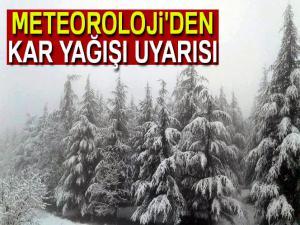 Meteoroloji'den kar uyarısı| 3 Nisan Salı yurtta hava durumu