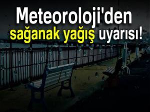 Meteoroloji'den sağanak yağış uyarısı (5 Mayıs 2018)
