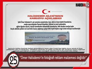 Şehit Ömer Halisdemir'in  fotoğrafı tescillendi