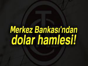 Son dakika... Merkez Bankası'ndan dolar açıklaması