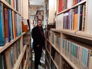 Trabzon'da kitapsever vatandaşın kurduğu kütüphane hizmete açıldı