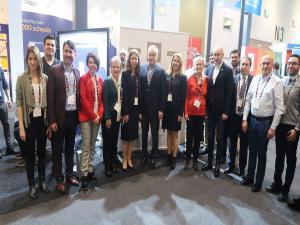 Türk öğrenciler teknolojik ürünlerini dünyaya açtı