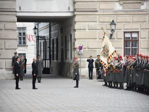Türkiye'nin Viyana Büyükelçisi Ceyhun, Bellen'e güven mektubunu sundu