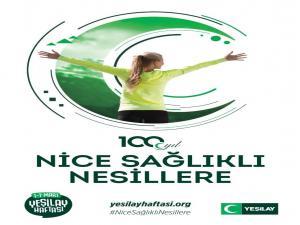 """Yeşilay Erzurum Başkanı Başkanı Salih Kaygusuz, """"Yeşilay 100 yaşında, Nice Sağlıklı Nesillere"""""""