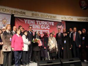 AK Parti Palandöken ilçe Kadın Kolları 3. Olağan genel kurulu yapıldı