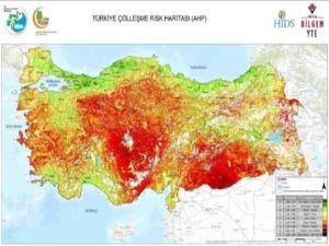 Türkiye'nin çölleşme risk haritası çıkarıldı