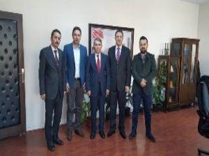 Palandöken AK Parti'den Gazioğlu'na teşekkür