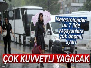 Meteoroloji'den sağanak yağış uyarısı! | 19 Temmuz Çarşamba hava durumu...