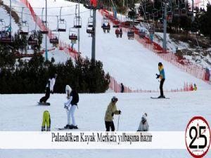 Palandöken Kayak Merkezi yılbaşına hazır