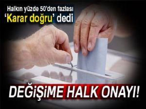AK Parti kamuoyunun nabzını tuttu: Halkın çoğu değişimden yana