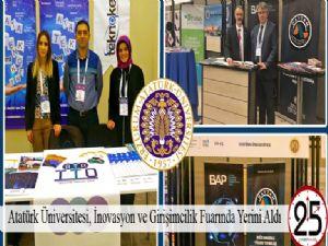 Atatürk Üniversitesi, İnovasyon ve Girişimcilik Fuarında Yerini Aldı