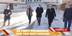 AK Parti Palandöken Yeni Yıla Hızlı Başladı