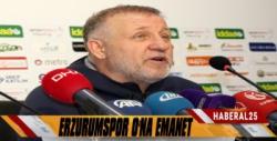 BB Erzurumspor Mesut Bakkal'a Emanet
