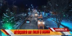 Büyükşehir Karla Mücadeleyi 24 Saat Sürdürüyor
