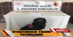 Erzurum'da Uyuşturucu Taciri Tutuklandı