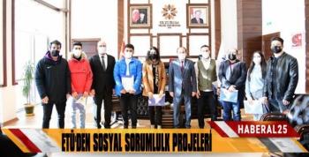 ETÜ'den Sosyal Sorumluluk Projeleri