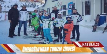 Ömeroğlu'ndan Turizm Zirvesi