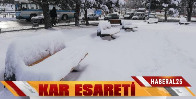 Kar Erzurum'u Esir Aldı